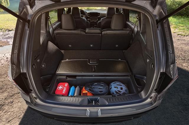 2021 Honda Passport cargo space