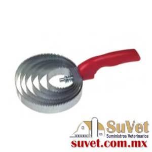 Peine rizado metálico pieza - SUVET
