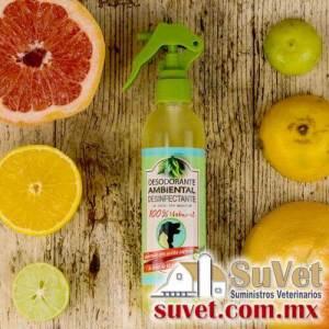Desodorante desinfectante Brisa Cítrica spray de 250 ml - SUVET