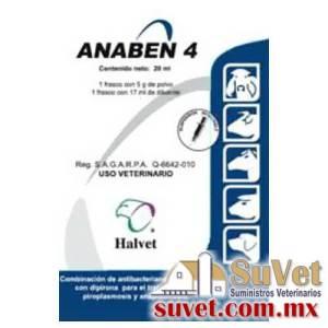 Anaben 4 frasco de 20 ml - SUVET