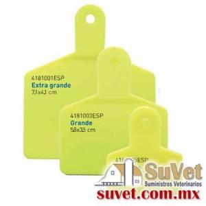 Arete Markiflex grande amarillo s/n 50 pzas (sobre pedido) bolsa de 50 pz - SUVET