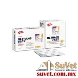 Ol Trans Flex Palatable caja con 10 blisters de 7 comprimidos c/u - SUVET
