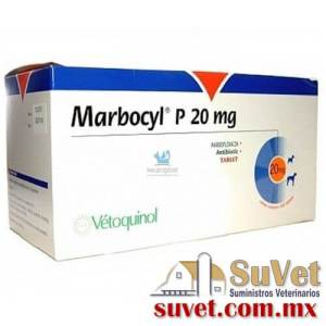 Marbocyl ® P  caja con 100 comprimidoss de 80 mg - SUVET