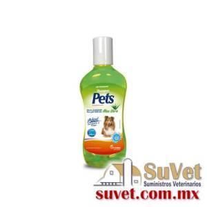 Pets Shampoo Aloe Vera 250 ml frasco de 250 ml - SUVET