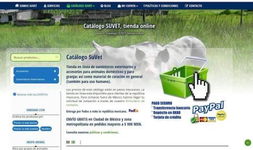 Nueva página web Suvet
