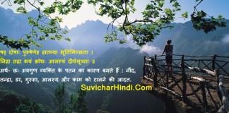 15 संस्कृत श्लोक अर्थ सहित - Sanskrit Slokas With Meaning in Hindi Subhashitani
