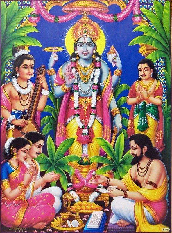 Satyanarayan Vrat Katha in Hindi ,सत्यनारायण व्रत कथा एवं पूजा विधि