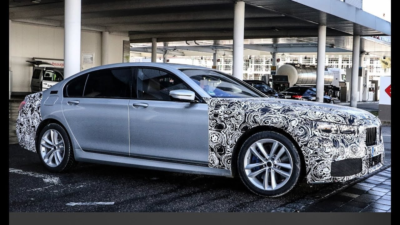 2020 BMW 7 Series Spy Photos