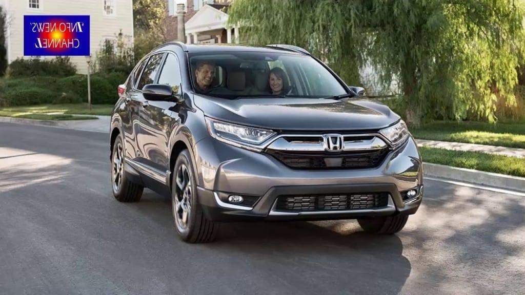 2019 Honda CR V Spy Photos