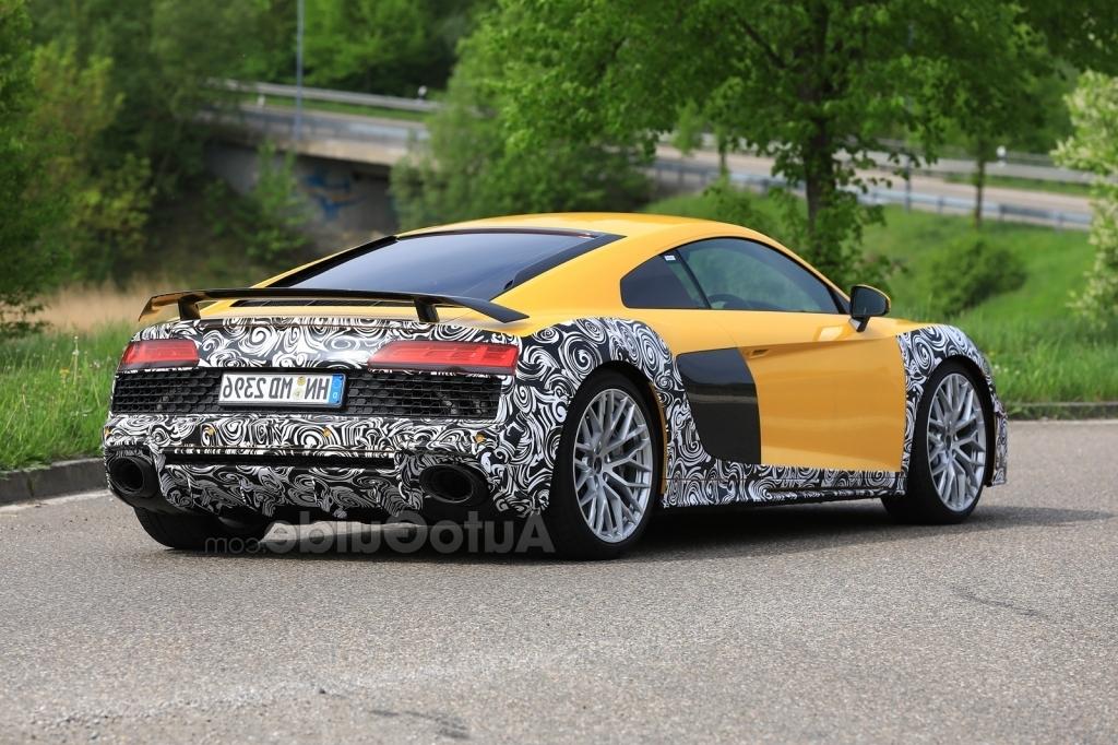2020 Audi R8 Spy Photos