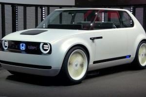 2020 Honda Urban EV Drivetrain