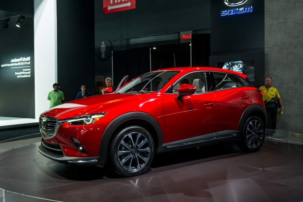 2020 Mazda CX3 Spy Shots
