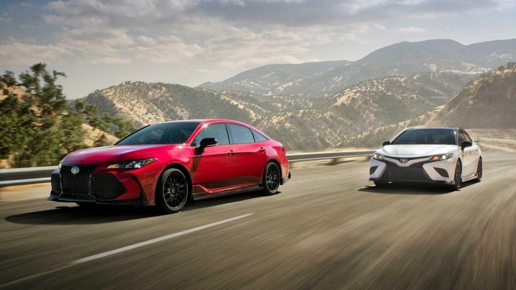 2020 Toyota Camry Drivetrain