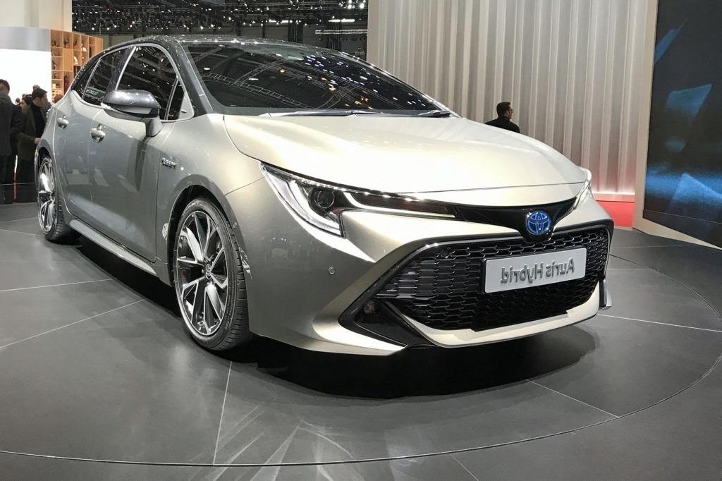 2019 Toyota Auris Spy Shots