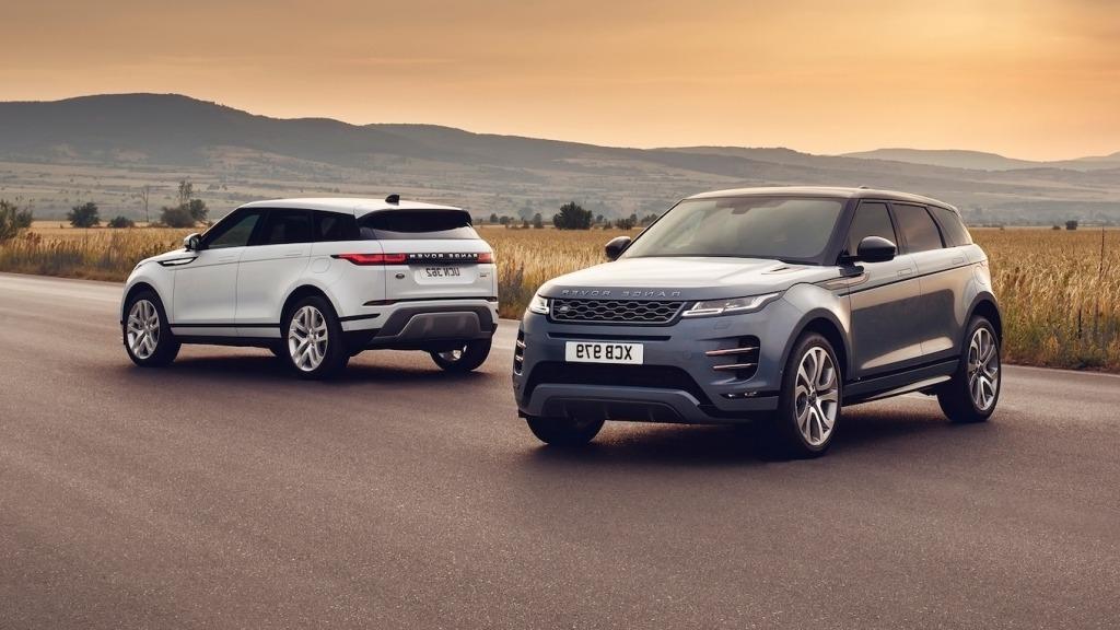 2020 Range Rover Evoque Drivetrain