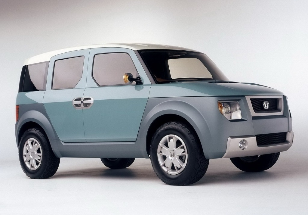 2021 Honda Element Spy Shots