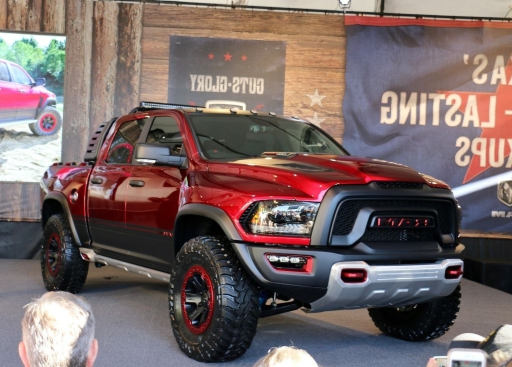 2020 Ram 1500 Rebel TRX Wallpapers