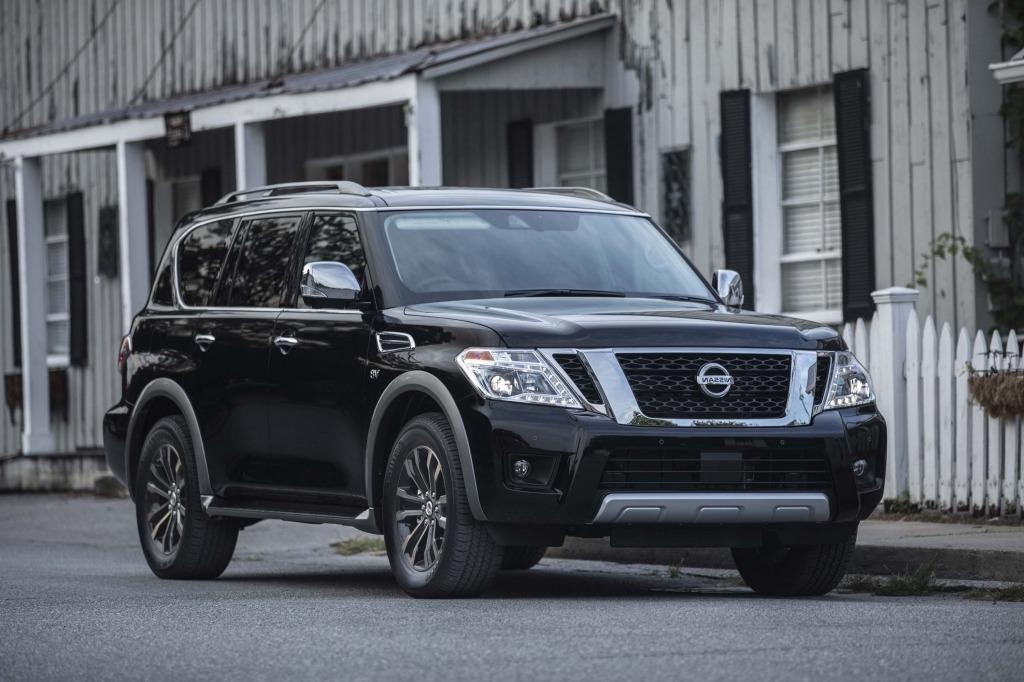 2021 Nissan Armada Spy Shots
