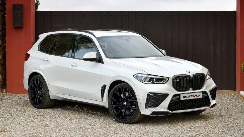 2020 BMW X5M Images