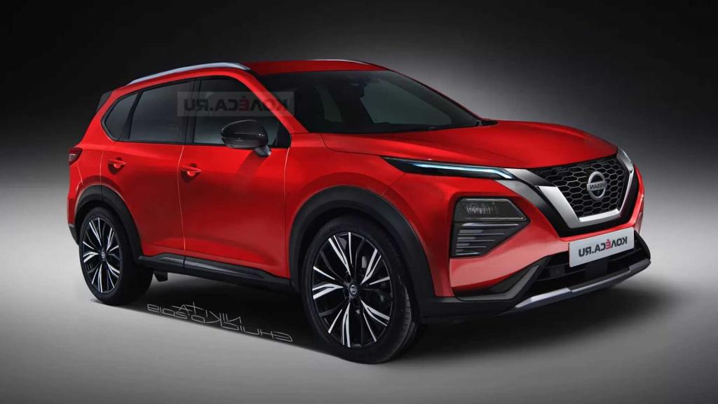 2021 Nissan Qashqai Redesign