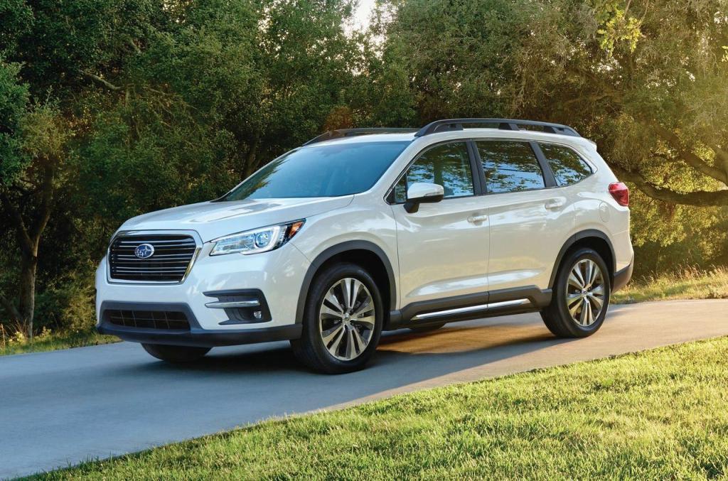 2021 Subaru Ascent Spy Shots