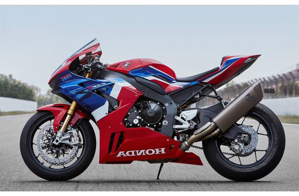 2021 Honda CBR1000RRR Spy Photos