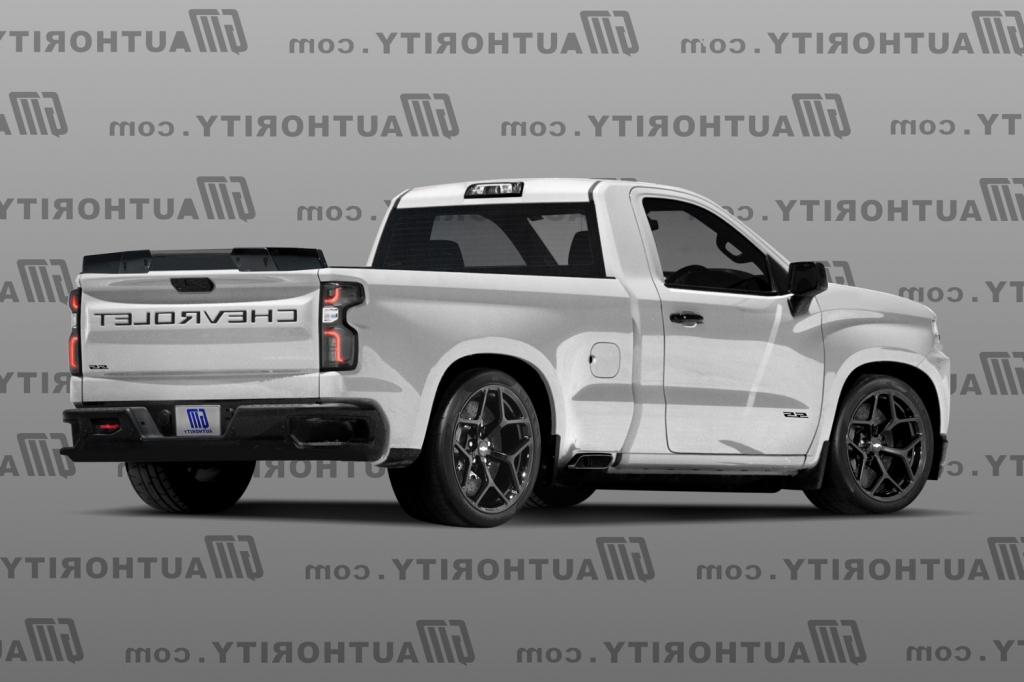 2021 Chevrolet Cheyenne Spy Photos