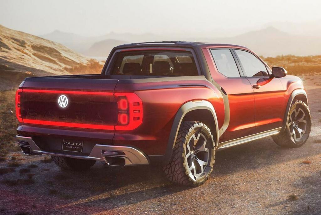 2021 VW Atlas Tanoak Exterior