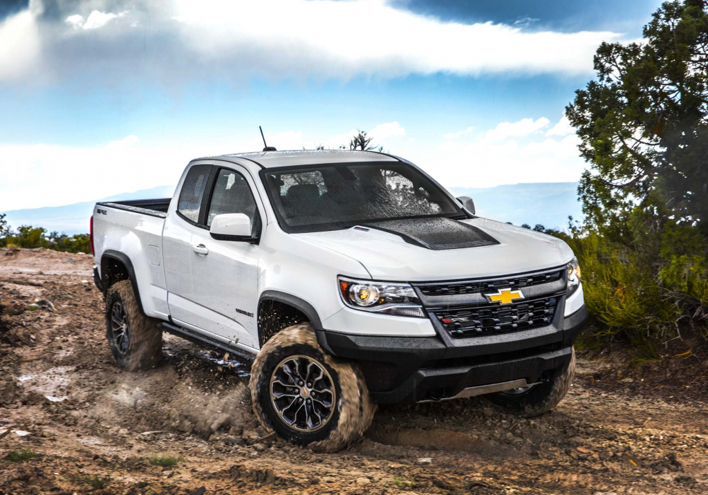 2022 Chevy Colorado Spy Shots