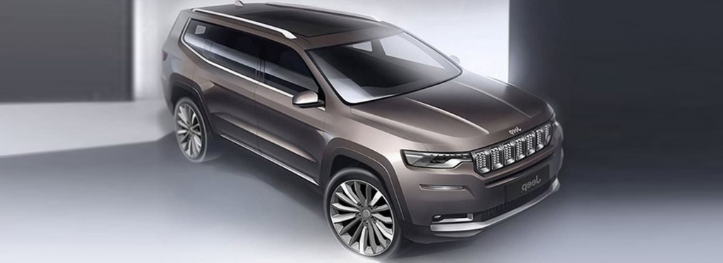 2022 Jeep Grand Wagoneer Spy Shots