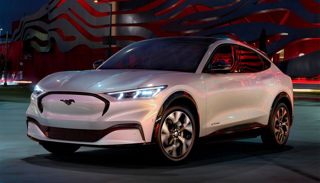 2022 Ford MachE Powertrain