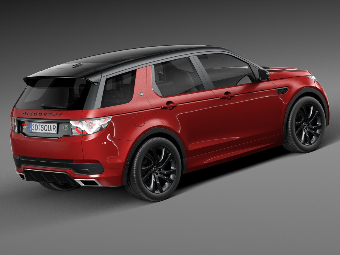 2018 land rover discovery sport red colors - 2018/2019 best suv