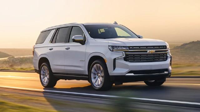 Best Full-size SUVs for 2022 - Chevrolet Tahoe