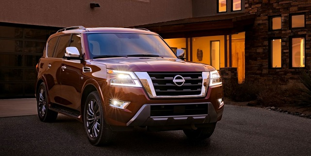 Best Full-size SUVs for 2022 - Nissan Armada