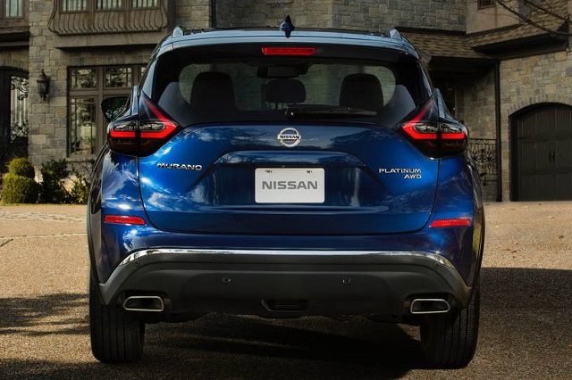 2021 Nissan Murano rear view