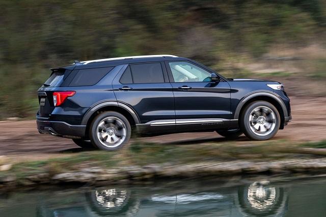 2023 Ford Explorer rear