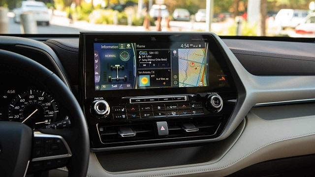 2023 Toyota Grand Highlander interior
