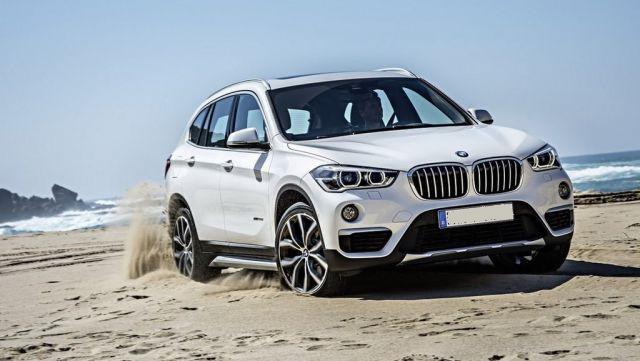 2019 BMW X1 front