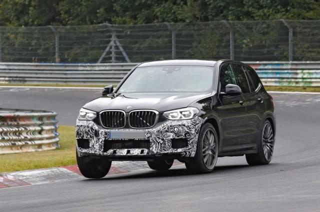 2019 BMW X3M spied