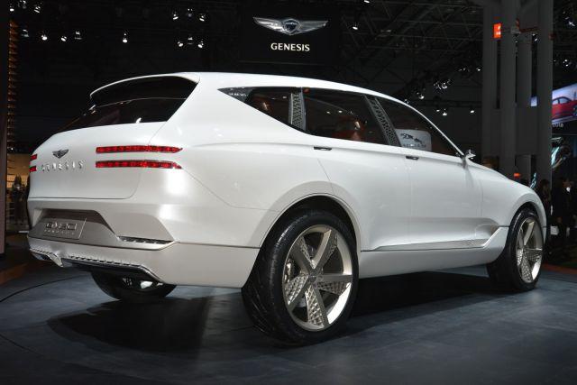 2019 Genesis GV80 SUV rear