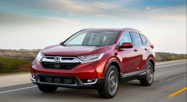 2019 Honda CR-V front