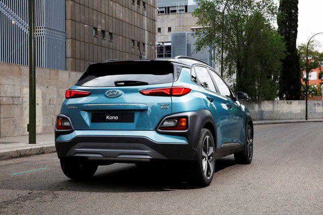 2019 Hyundai Kona rear