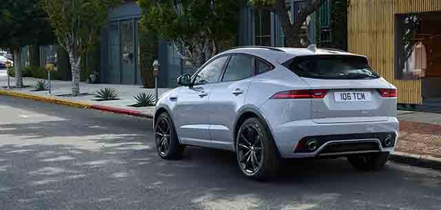 2019 Jaguar E-Pace rear