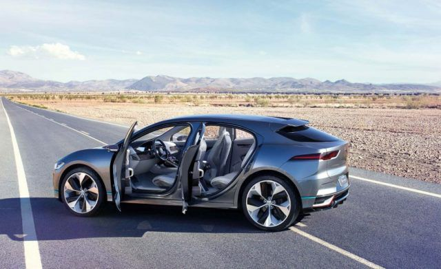 2019 Jaguar I-Pace EV side