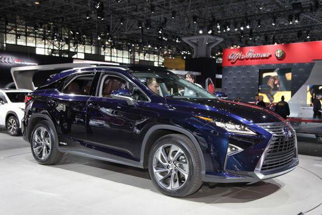 2019 Lexus RX 350 front