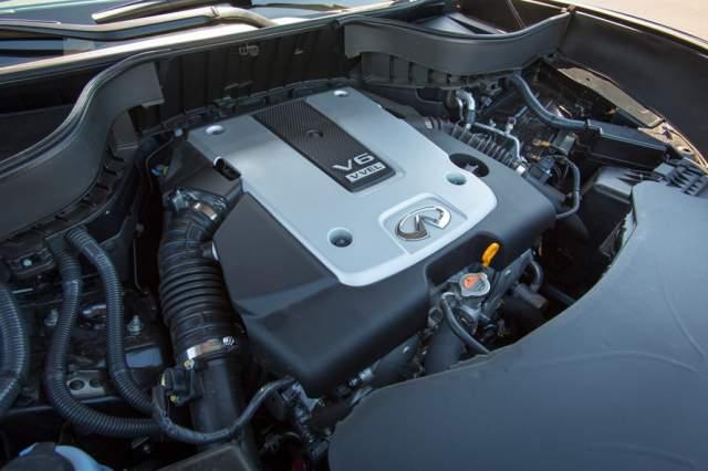 2019 Nissan Xterra engine