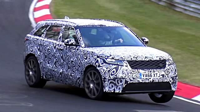 2019 Range Rover Velar SVR spied