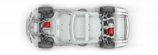 2019 Tesla Model Y chassis