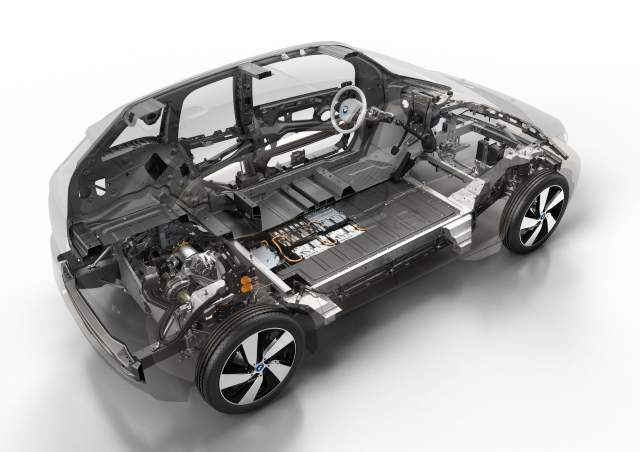 2019 BMW X7 fuel cell SUV