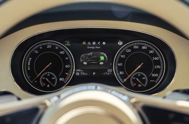 2019 Bentley Bentayga Plug-In Hybrid dashboard